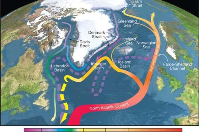 Circulação Do Oceano Atlântico – Estudo Reescreve A Fonte Motriz