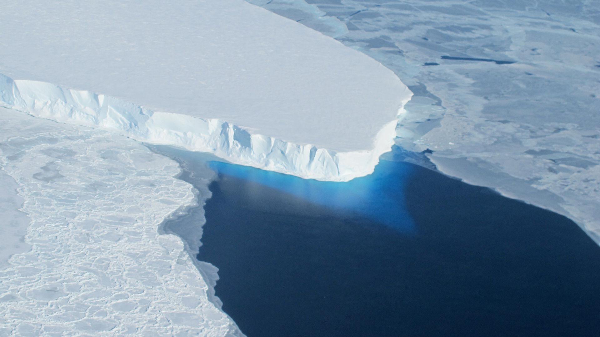 A 'geleira Do Apocalípse' Da Antártica Está Começando A Se Rachar